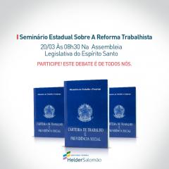 Seminário Reforma Trabalhista - FACEBOOK