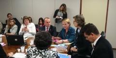 Deputado Helder em reunião sobre a Escuta protegida