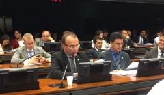 Deputado Helder durante audiência da Comissão de Educação