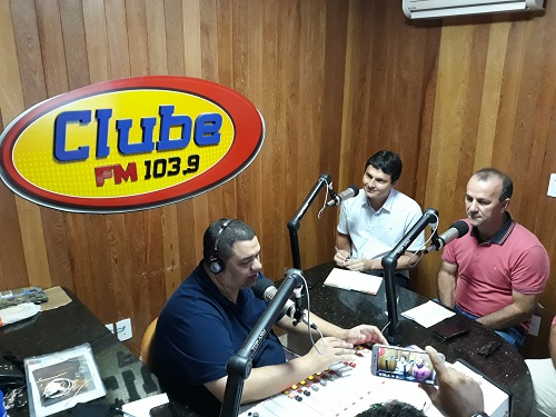 Entrevista para rádio