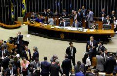 sessão que derrubou o veto ao refis para mpe